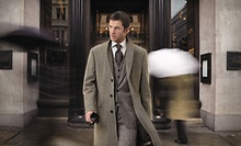 Fabrics by Super 150s, Fabrics by Loro Piana, or Fabrics by Holland & Sherry Suit at Bespoke Fit (Up to 63% Off)