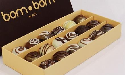 Ricci Gourmet — Chiado: caixa de 6, 12 ou 24 bombons artesanais desde 4,90 €