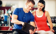 One 60-Minute Training Session for Two or Four, or Four or Six Private Sessions for One at AMP Fitness (Up to 79% Off)