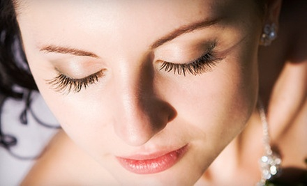 Full Set of Permanent Eyelash Extensions with Optional Fill-In Session at Nails at Sun's Nail & Spa (Up 67% Off)
