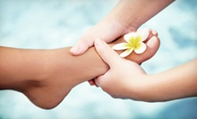 Spa Pedicure with Optional Scrub and Hot-Towel Treatment at Red Hots Salon (Up to 55% Off)
