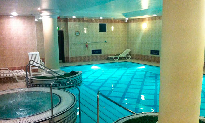 Spa Day With Body Wrap And Bubbly Health Aroma Groupon