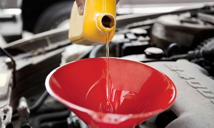 One or Two Oil Changes, Wheel-Alignment Inspections, and Nitro Tire Services at Murray Chevrolet (Up to 53% Off)