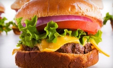 Half Off American Comfort Food at Tops Burger. Two Options Available.