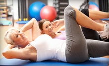 10 Fitness Classes or One Month of Unlimited Fitness Classes at Studio V Fitness (Up to 68% Off)