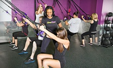 $9 for a Group Interval-Training Fitness Class at LimeTime ($25 Value)