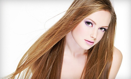 $85 for Keratin Hair-Smoothing Treatment at Blue Salon and Spa ($250 Value)