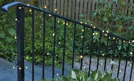 Solar-Powered LED Fairy String Lights