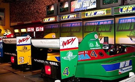 $22 for Two Hours of Unlimited Arcade Gaming for Two at GameRoom ($46.40 Value)