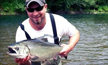 Eight-Hour Guided Fishing Trip for Two or Three from Fins and Scales Guide Service (Up to 59% Off)