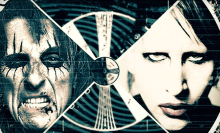 Masters of Madness: Alice Cooper & Marilyn Manson at Family Arena on June 25 at 7 p.m. (Up to 51% Off)