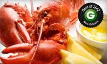 Steak and Seafood Cuisine at Star Steak and Lobster House (Up to 51% Off). Two Options Available.
