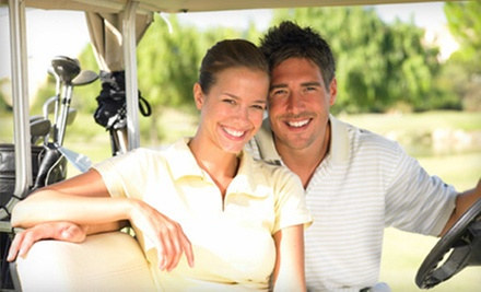 Nine-Hole Round with Cart Rental for Two, or Three 30-Minute Lessons at Grand Prairie Golf Course (Up to 56% Off)