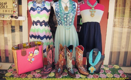 $20 for $40 Worth of Boutique Apparel and Accessories at Bless Your Heart Giftique Bless Your Heart Giftique