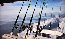 $200 for a Four-Hour Nighttime Shark-Fishing Trip for Up to Four from Fired Up Fishing Charters ($400 Value)