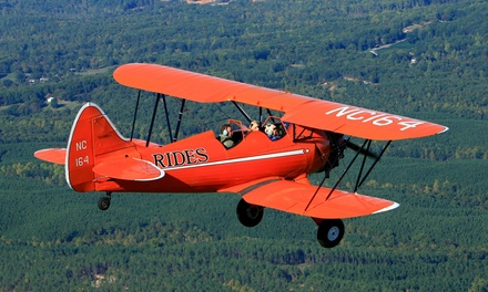 $89 for 20-Minute Bi-Plane Flight from Bi-Plane Adventures, Inc. ($178.20 Value)