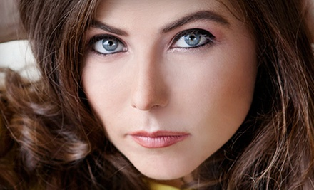 Permanent Makeup for Upper Eyelids, Lower Eyelids, Both, or Brows at Unbearably Beautyful (Up to 70% Off)