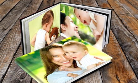 Custom Padded Hardcover Photo Book from PrinterPix (Up to $76 Off) from $7.99- $18.99
