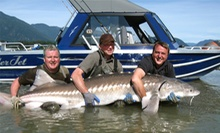 Four-Hour Sturgeon-Fishing Trip for Two or Four from Swiftwater Guiding (Half Off)