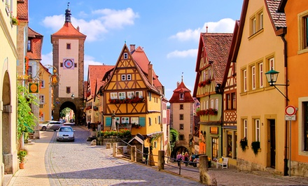 Groupon Deal: ✈ 12-Day Tour of Historic Germany with Airfare from Gate 1 Travel. Price/Person Based on Double Occupancy.