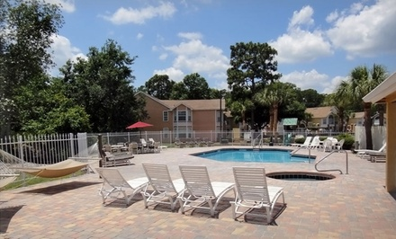 groupon daily deal - 2- or 3-Night Stay for Up to Eight in a Two- or Three-Bedroom Condo at Florida Vacation Villas Club in Kissimmee, FL