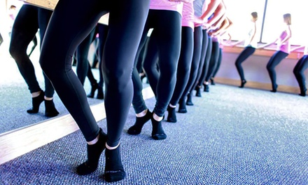 5 or 10 Classes or One Month of Unlimited Classes at Pure Barre (Up to 62% Off). Two Locations Available.