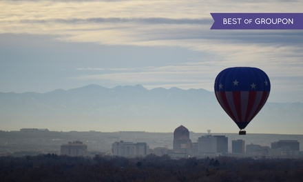 Hot-Air Balloon Ride with Champagne and Snack for One or Two from World Balloon (Up to 45% Off)