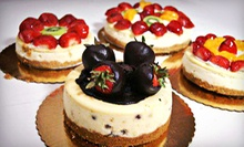 Three Mini Cheesecakes or $5 for $10 worth of German Pastries at Lutz Caf &amp; Pastry Shop 