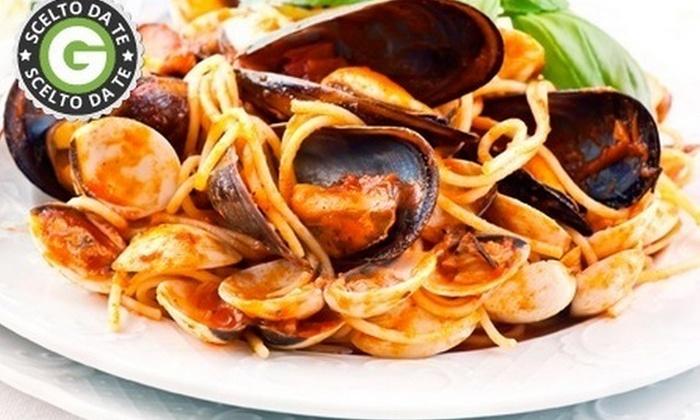 LA TANA DEI LUPI - La Tana dei Lupi: Menu di pesce di 4 portate e vino sul lungomare di Bari da 29 € invece di 111