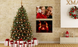 """One Or Two 16""""x12"""" Canvas Portraits With Free Shipping From Canvasonsale (up To 74% Off)"""