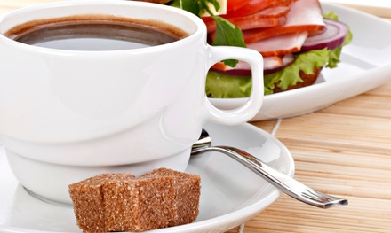 Breakfast and Brunch Café and Catering at Koinonia Coffee House (Up to 52% Off). Three Options Available.