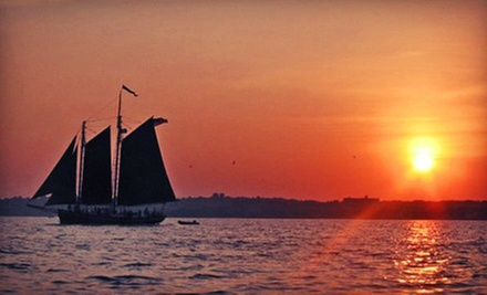 Harbor Cruise for 1 or 2, or Two-Hour Private Charter for Up to 40 from Schooner Inc (Up to 52% Off)