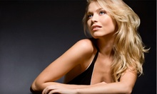 Haircut Package with Hand Treatment and Optional Hair Color or Highlights at Heaven Salon & Spa (Up to 71% Off)