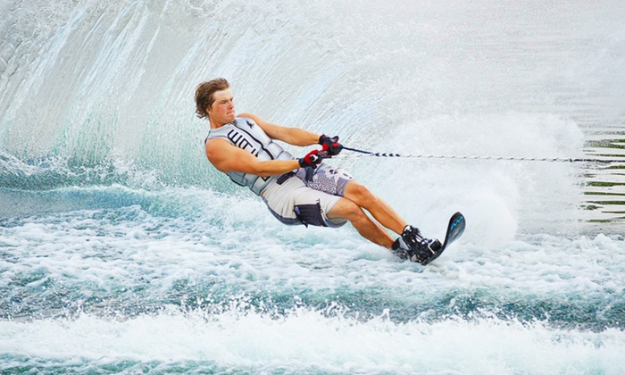 CN Watersports - CN Watersports: Waterskiing or Wakeboarding Introduction from £21 at CN Watersports (Up to 52% Off)