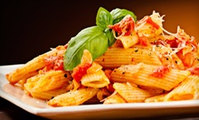 Two-Course Italian Lunch for Two or Four at Luka's Italian Cuisine (Up to 55% Off)