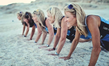 $49 for Six-Week Bootcamp Program with Nutritional Plan and Personal Coach at Mama Bootcamp ($199 Value)