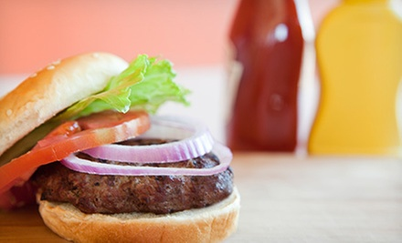 Sandwich Meal for Two or a Burger Meal for Four at The Sports Page (Up to 52% Off)