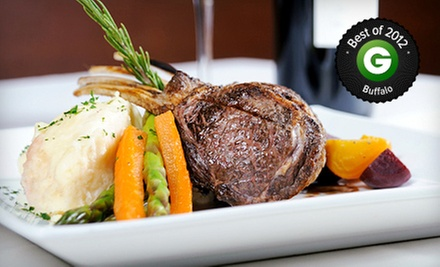 New American Dinner and Drinks for Two or Four at Epic Restaurant and Lounge (Up to 53% Off)