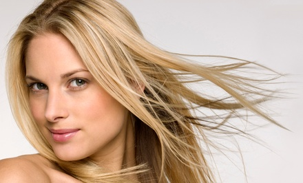 Cut and Color Packages at High Maintenance Salon & Spa (Up to 53% Off). Four Options Available.