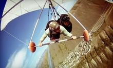$75 for Hang Gliding Tandem Flight or Paragliding at Eagles Nest Hang Gliding &amp; Paragliding ($150 Value)