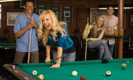 Beer and Billiards Package for Two or Four at Stroker's Billiards (Up to 52% Off)