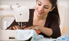 Two-Hour Introductory Sewing Class for One or Two at The Button, the Needle and the Wardrobe (Up to 51% Off)