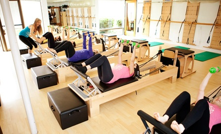 $39 for Five Pilates Classes at Club Pilates San Diego (Up to $80 Value)