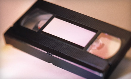 One, Three, or Five Videotape-to-DVD Conversions from MediaGo2 (Up to 65% Off)