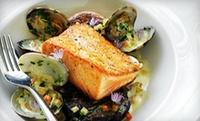 Farm-to-Table Dinner for Two with Wine on Weekdays or Weekends at Tiburon Tavern (Up to 47% Off)