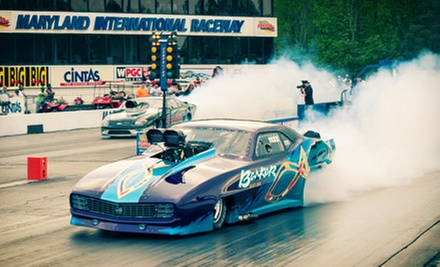 Drag, Superbike, and Nostalgia Events for Two at the Maryland International Raceway (Half Off). Five Options Available.