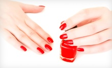 One or Two Natural Mani-Pedis at SistaSista Nail Spa (Up to 58% Off)