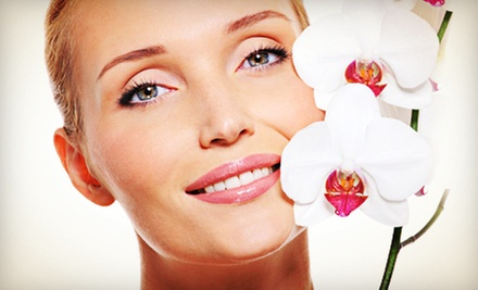 One or Three Anti-Aging Cold-Laser Facials or Microdermabrasion at Sandlewood Spa & Wellness Centre (Up to 64% Off)
