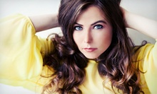 Cut with Options for Highlights or Color with Optional Retouches or Men's Cut at Harlow Boutique Salon (Up to 63% Off)