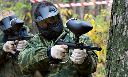 All-Day Paintball, Equipment, and 300 Rounds for 1, 2, or 4 at Fox Brother's Paintball Park (Up to 63% Off)
